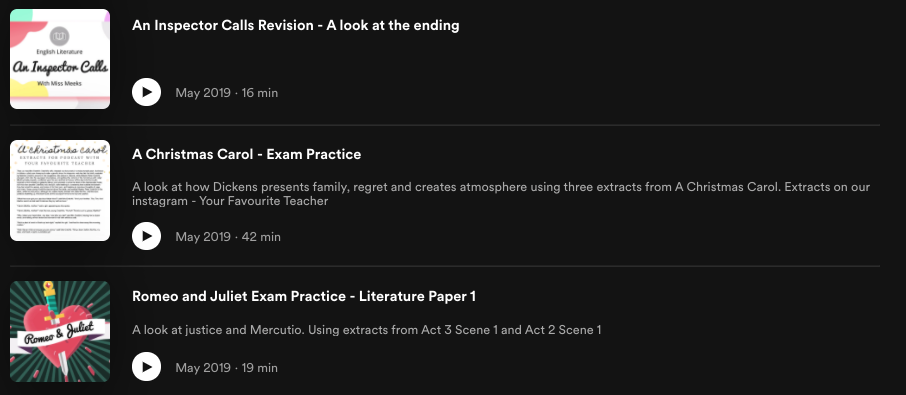 free lessons on spotify
